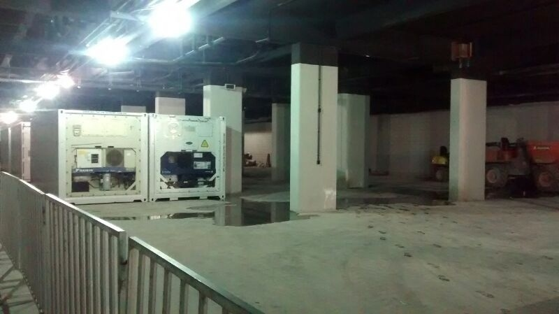 Interior da Arena da Baixada segue em reforma para a Copa
