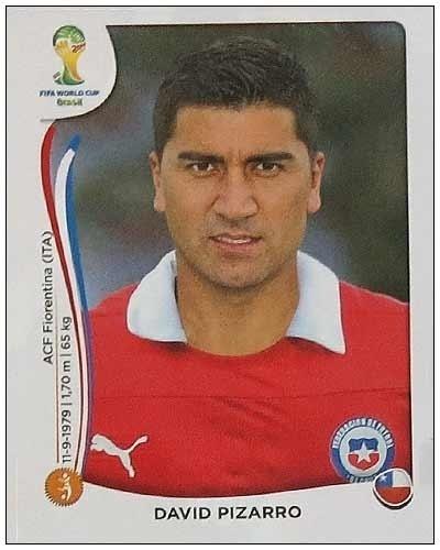Pizarro, da Fiorentina, não foi convocado e nem os torcedores chilenos entenderam a opção de Jorge Sampaoli