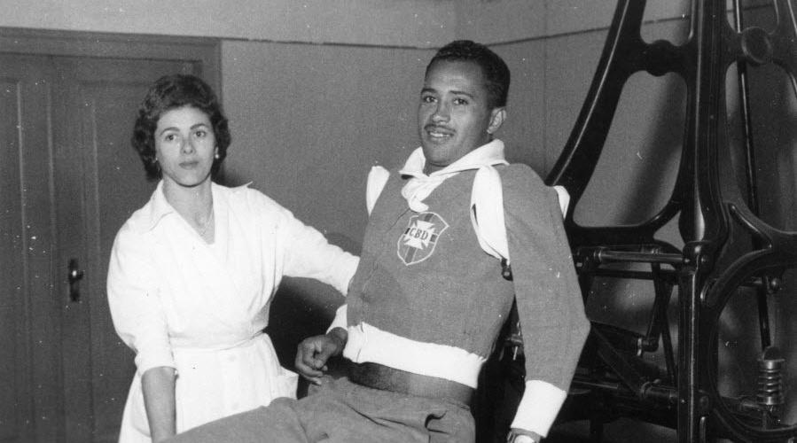 Oreco, jogador da Copa de 1958