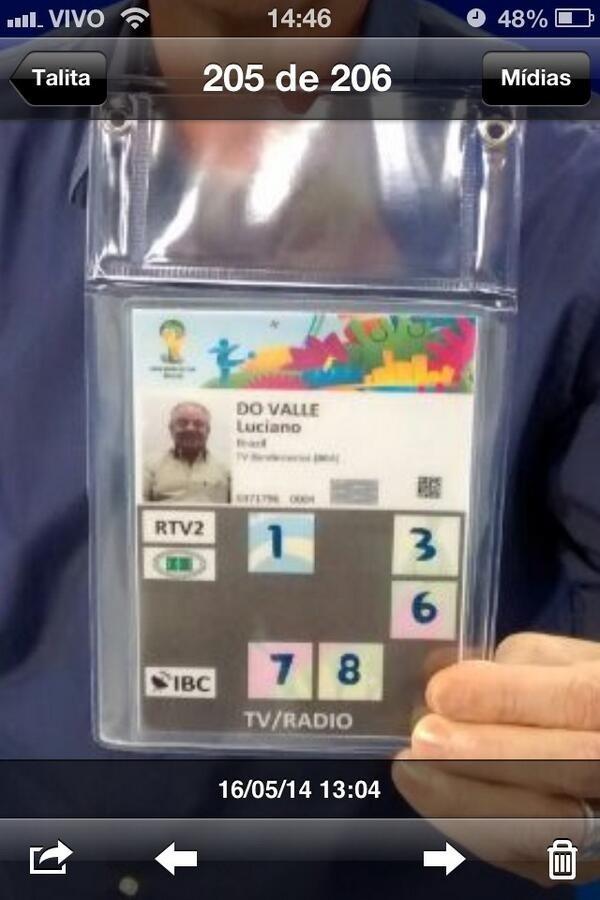 Neto publica credencial de Luciano do Valle