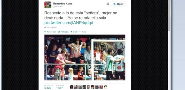 Racismo volta a acontecer no futebol espanhol - Reprodução/Internet