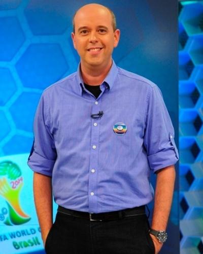 Alex Escobar, jornalista, apresentador e narrador da Globo