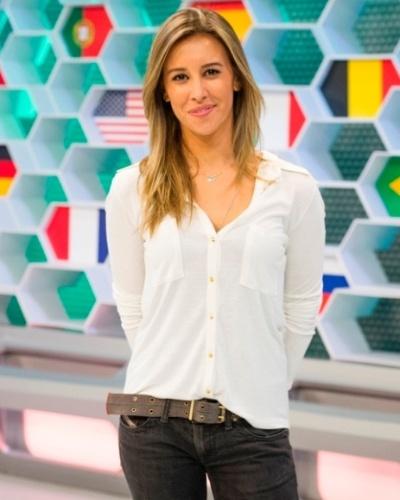 Cris Dias, jornalista e apresentadora da Globo
