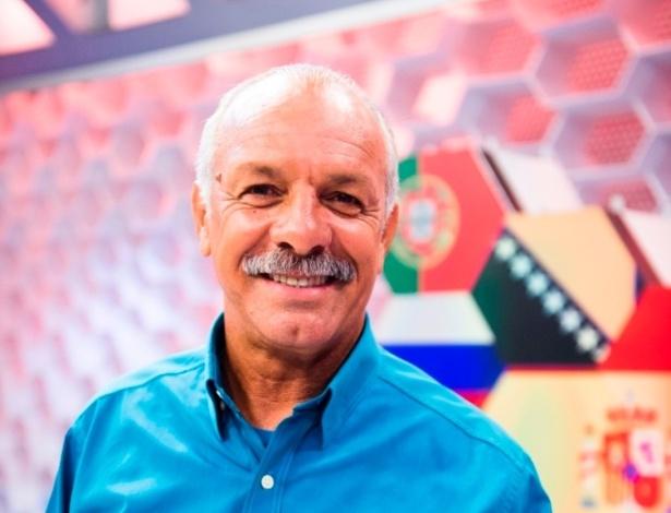 Júnior, ex-jogador e comentarista da Globo