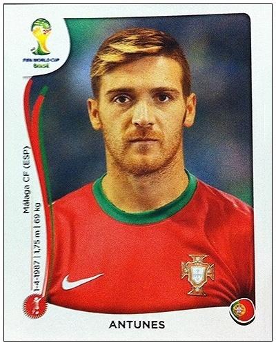 O português Antunes apareceu na pré-lista de 30 nomes, mas foi cortado da lista final de 23 pelo técnico Paulo Bento