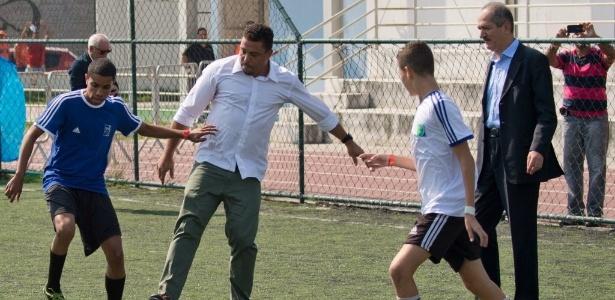 Membro do Comitê Organizador Local (COL) da Copa do Mundo, Ronaldo se disse envergonhado