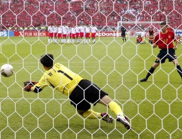 A Coreia do Sul tem como melhor resultado o 4° lugar em 2002. Isso não seria possível se, nas quartas, o goleiro Lee Won-Jae não tivesse defendido pênalti de Joaquín, da Espanha, para vencer as cobranças por 5 a 3