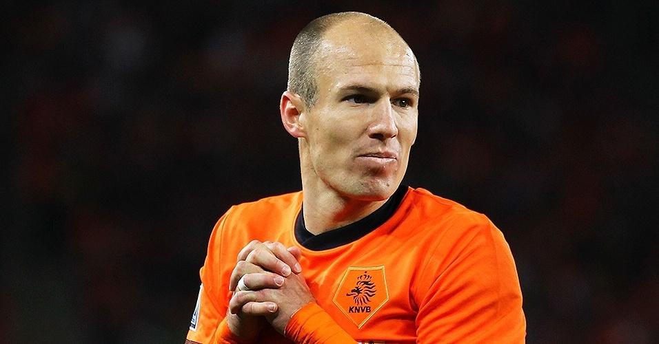 Arjen Robben (Holanda) em 2010
