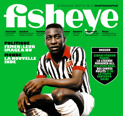 Capa da revista francesa Fisheye traz imagem
