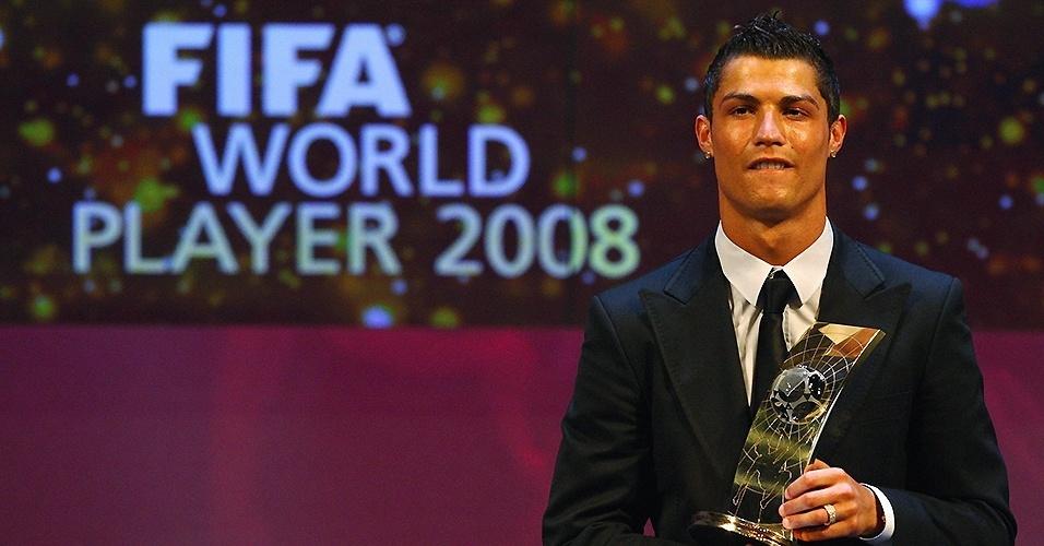 Cristiano Ronaldo (Portugal) em 2008