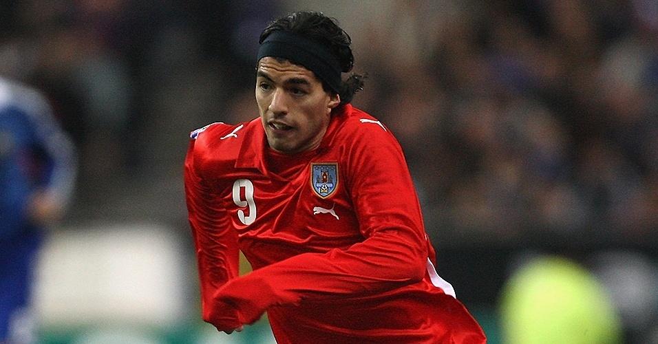 Luis Suarez (Uruguai) em 2008