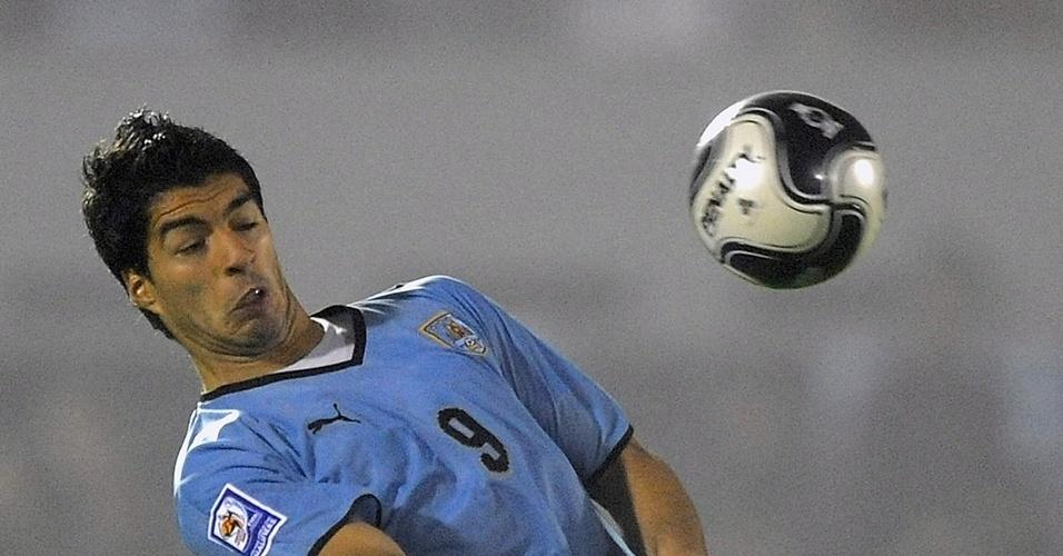 Luis Suarez (Uruguai) em 2009