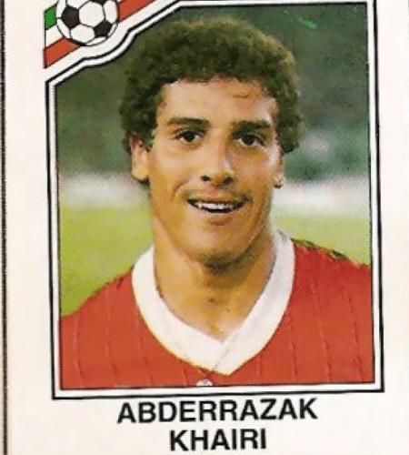 Marrocos venceu o Grupo F da Copa de 1986 e eliminou Portugal com uma vitória por 3 a 1; o herói foi Khairi, que marcou duas vezes no melhor resultado marroquino em um Mundial