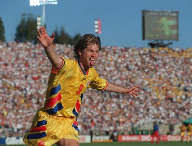 O principal ídolo da Romênia de 1994 era Gheorghe Hagi. Mas o artilheiro da melhor seleção romena da história foi Raducioiu, com 4 gols, incluindo dois nas quartas contra a Suécia