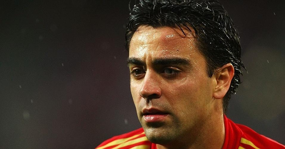 Xavi Hernandez (Espanha) em 2008
