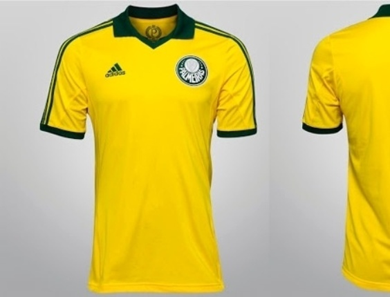 Camisa do Palmeiras lembra seleção brasileira