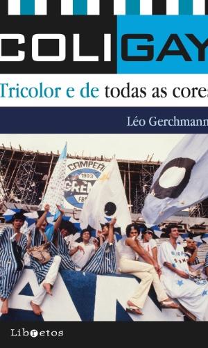 Capa do livro sobre a torcida gay do Grêmio