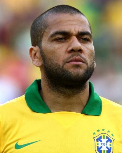 Daniel Alves, lateral direito da seleção brasileira