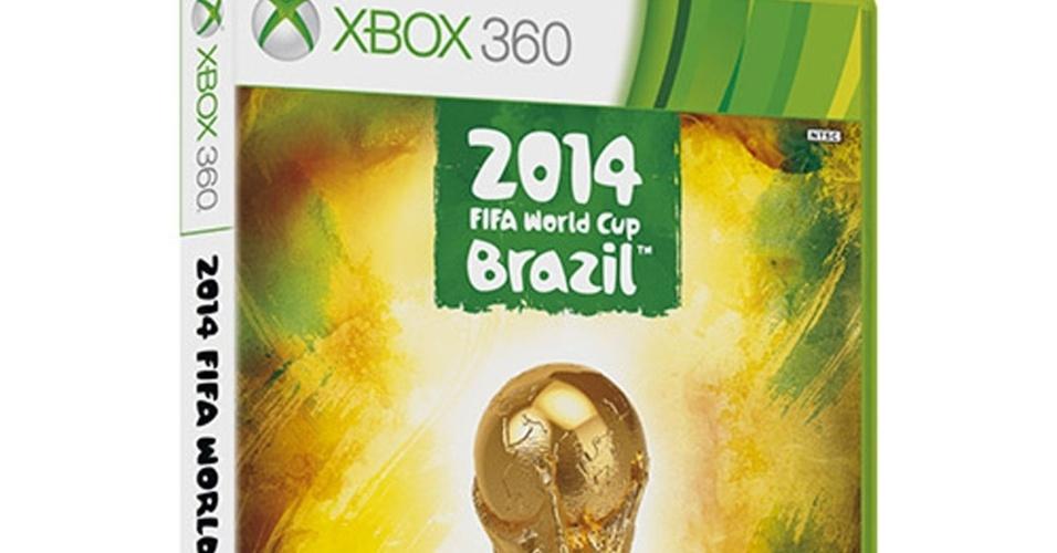 Embalagem do game oficial da Copa do Mundo