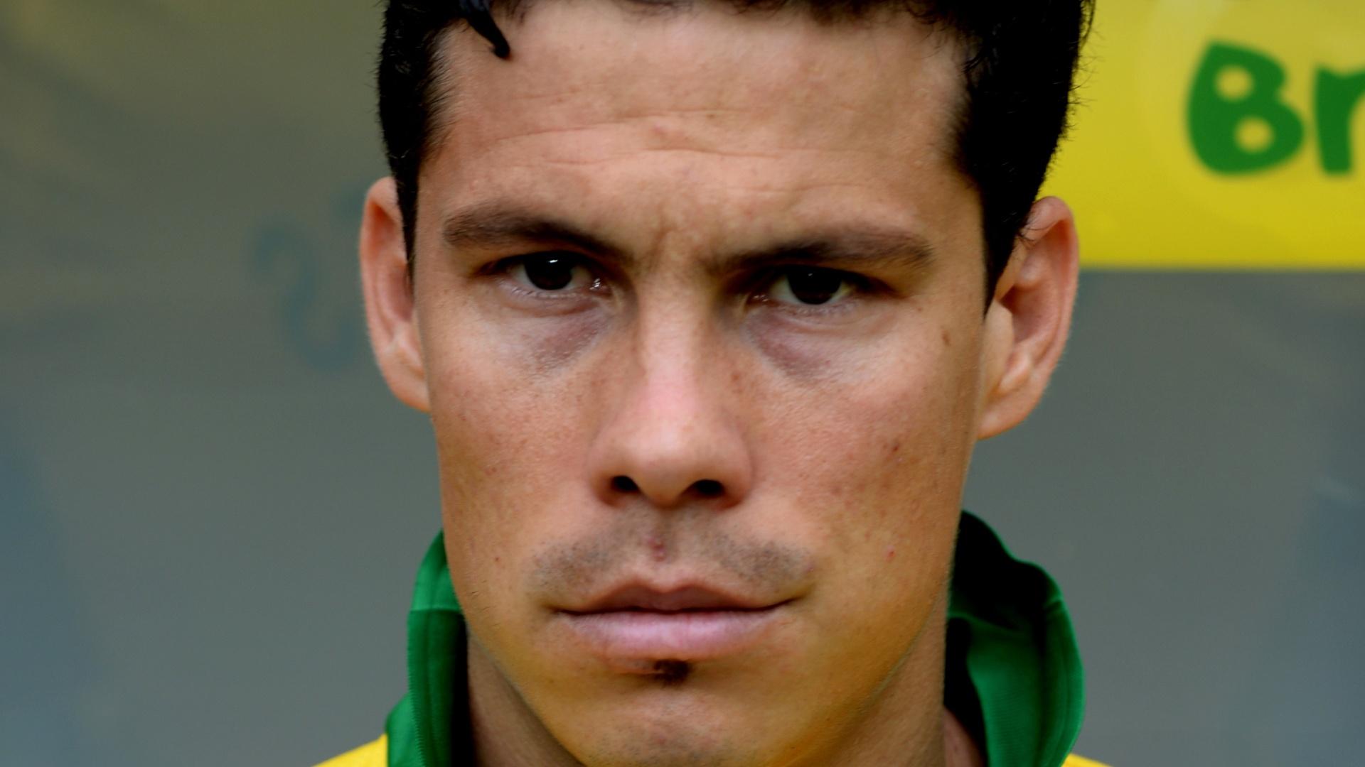 Hernanes, jogador da seleção brasileira