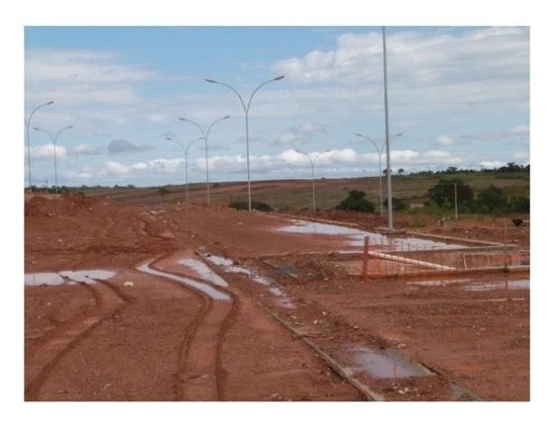 Imagem do entorno do COT do Pari divulgada pelo Tribunal de Contas de Mato Grosso no último dia 16; para secretário da Secopa, trabalhos estão 85% concluídos