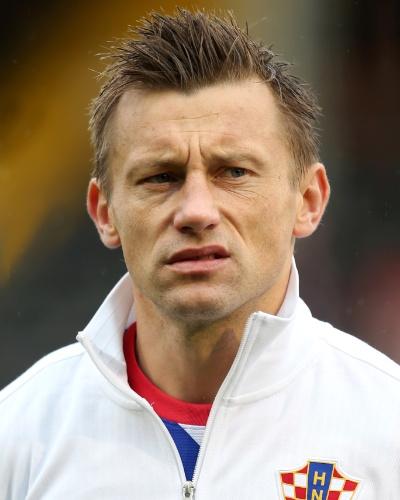 Ivica Olic, atacante da Croácia