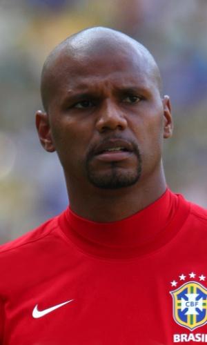 Jefferson, goleiro da seleção brasileira