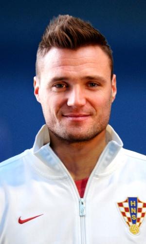 Leon Benko, jogador da Croácia