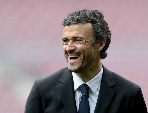 Luis Enrique tem a missão de reconstruir a equipe do Barcelona - AFP PHOTO / JOSEP LAGO