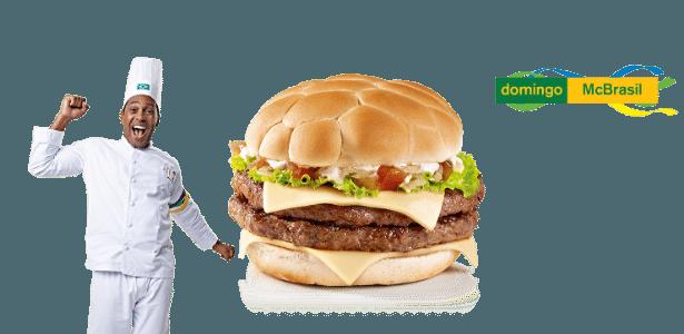 McDonald's tem sanduíches da Copa do Mundo