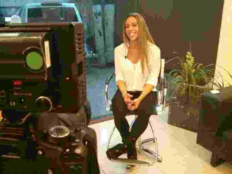 Mulher do atacante Luizão, Mariana Mesquita que também fez o programa Mulheres Ricas - Otávio Pinheiro