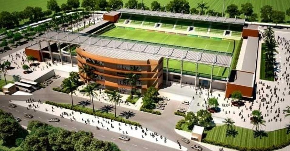 Projeto do COT do Pari, na Grande Cuiabá; capacidade para 3.500 pessoas e investimento de R$ 26 milhões do governo estadual