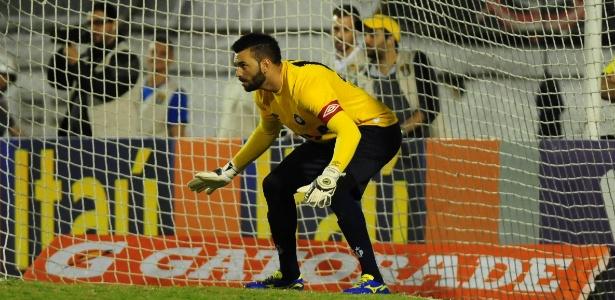Weverton agora tem contrato com o Atlético-PR até maio de 2018