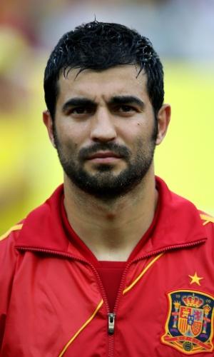 Albiol, jogador da Espanha