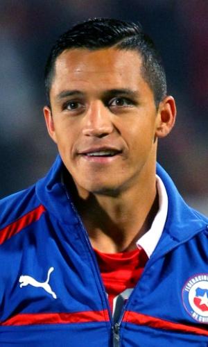 Alexis Sánchez, atacante do Chile