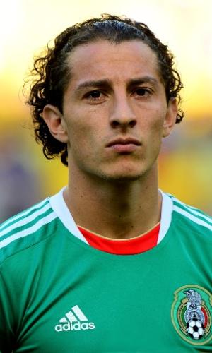 Andrés Guardado, jogador do México