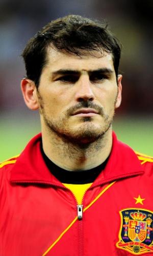 Casillas, goleiro da Espanha