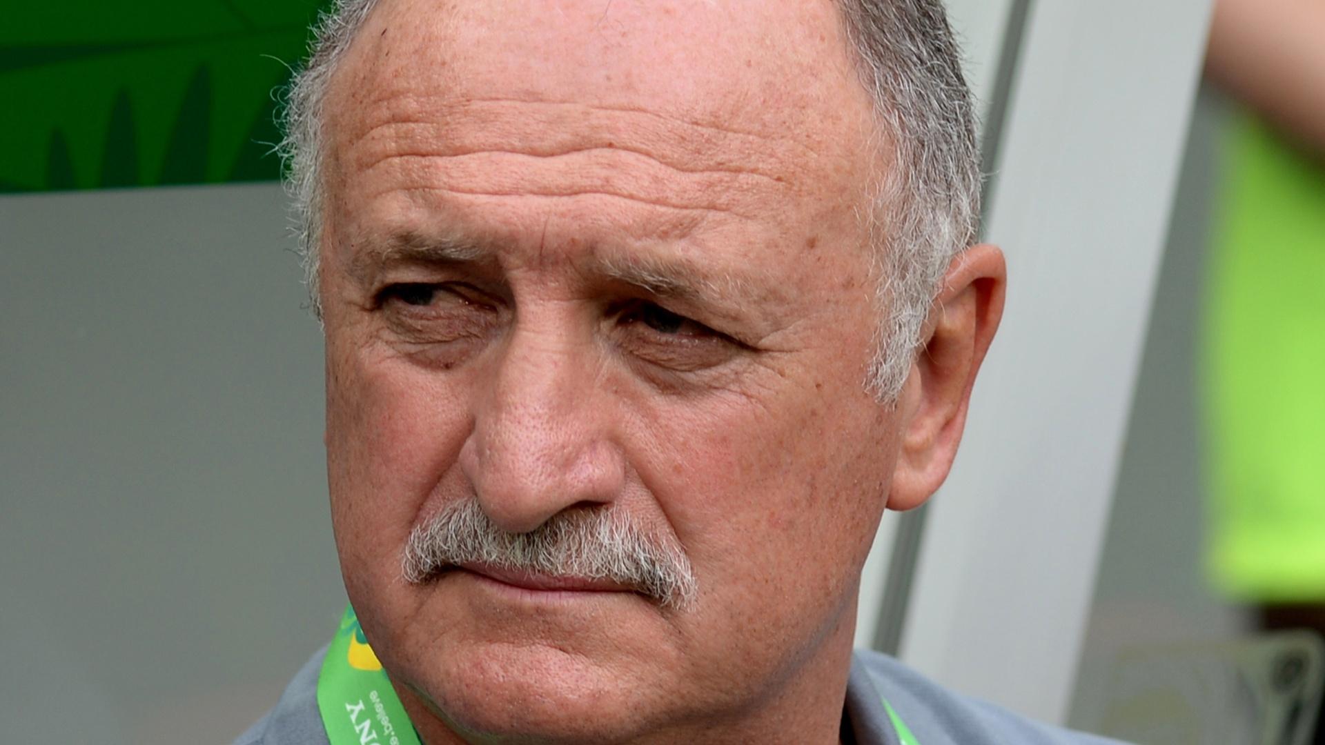 Felipão, técnico da seleção brasileira