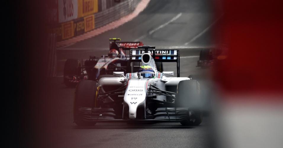 Felipe Massa não foi bem no primeiro treino livre e ficou apenas em 16º