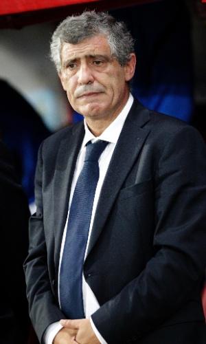 Fernando Santos, técnico da Grécia