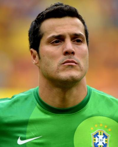 Julio Cesar, goleiro da seleção brasileira