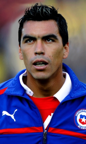 Paredes, jogador do Chile