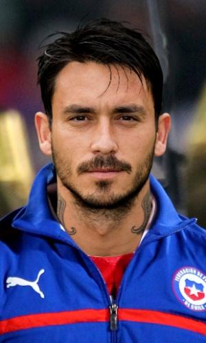 Pinilla, jogador do Chile