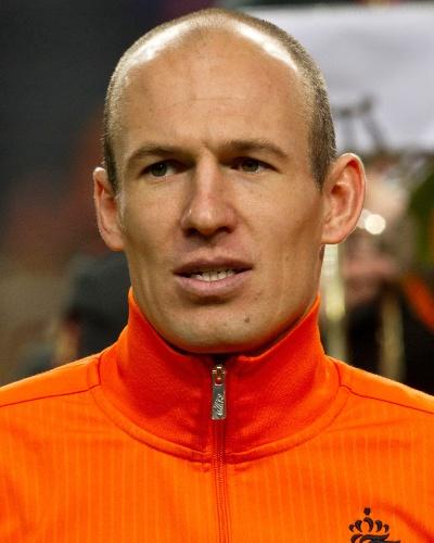 Robben, jogador da Holanda