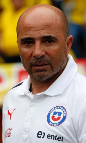 Sampaoli, técnico do Chile