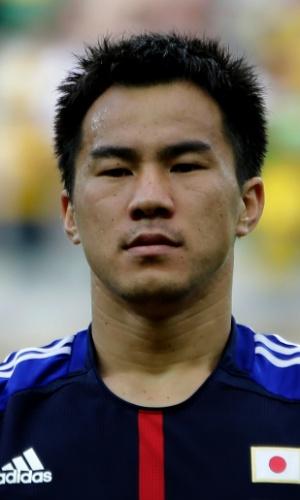 Shinji Okazaki, atacante do Japão