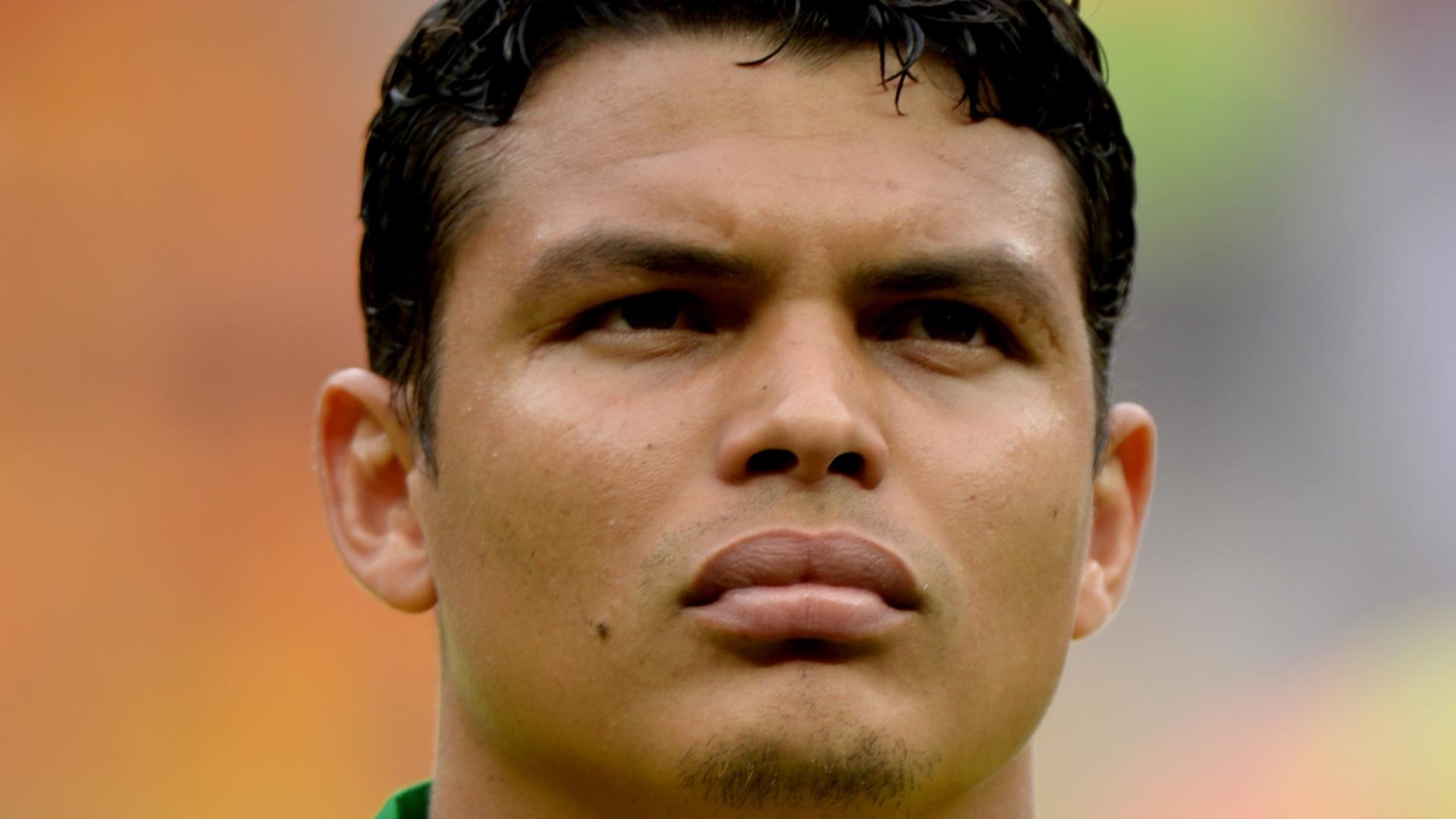 Thiago Silva, zagueiro e capitão da seleção brasileira