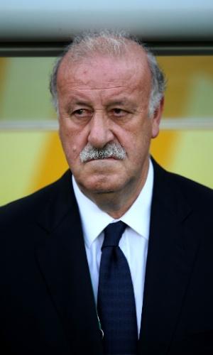 Vicente Del Bosque, técnico da Espanha