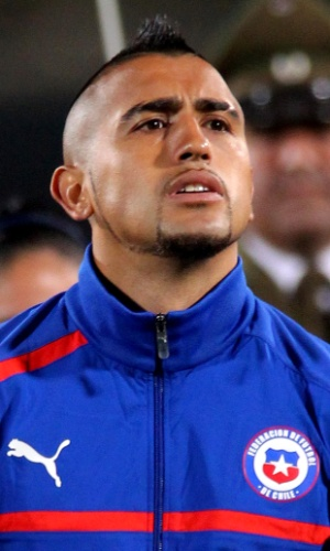 Vidal, jogador do Chile