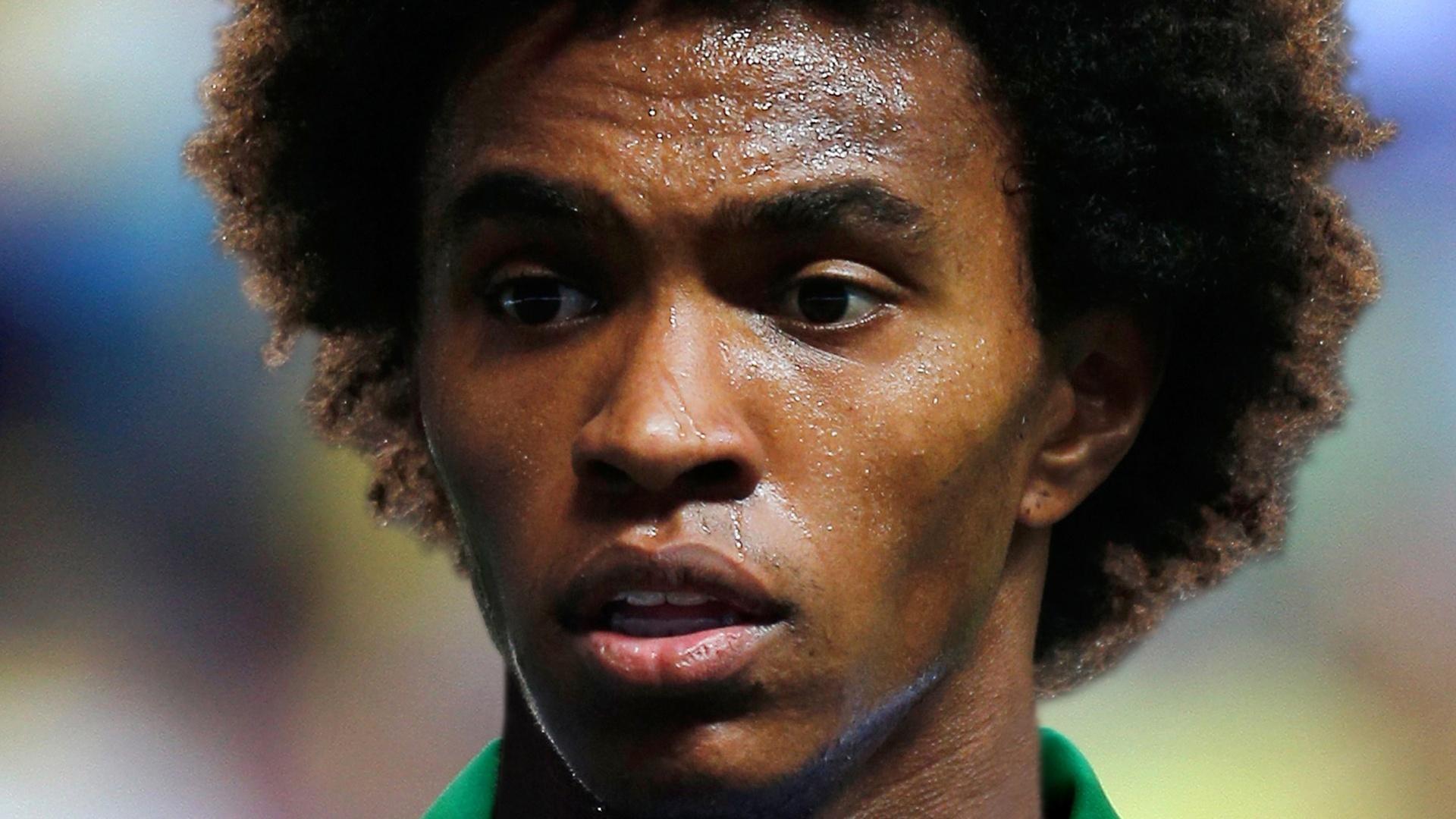 Willian, meia da seleção brasileira